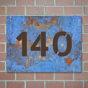 huisnummerplaat maken