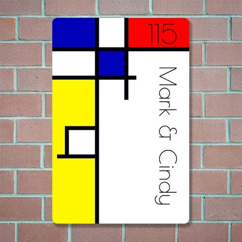 design naambord bestellen