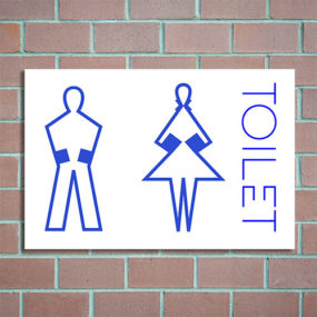 bordje toiletten